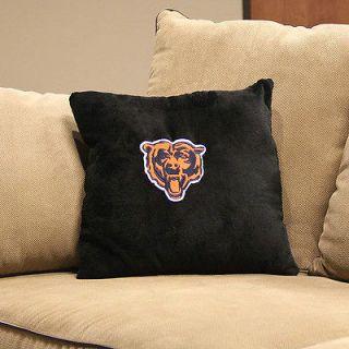 SPORT MEMORABILIA Chicago Bears Logo Pillow w/ NFL Logo