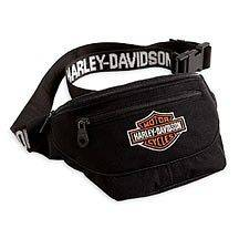 Harley Davidson Bar & Shield Logo Belt Hip Bag   New with Tags Great
