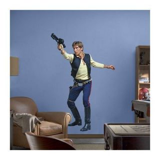 Life Sized Fathead Star Wars Han Solo Wall Decal
