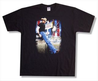 JASON ALDEAN   STANDING PHOTO 2008 TOUR CULLOWHEE T SHIRT   NEW