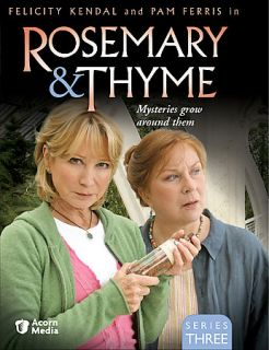 Rosemary Thyme   Series 3 DVD, 2007, 3 Disc Set
