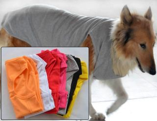 Clothes wholesale Big Dog Tanks Top Shirts Pet T shirts 8 color Cotton