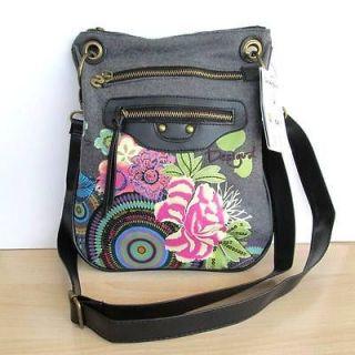 2012 New DESIGUAL Womens Floral Pattern Shoulder Bag Handbag Purse