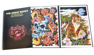 Books On The Art Of Tattooing A3 Tattoo Flash Japan Filip Leu Mosher