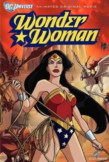 WOMAN ANIMATED MOVIE DC UNIVERSE DVD 2009 KERI RUSSELL NATHAN FILLION
