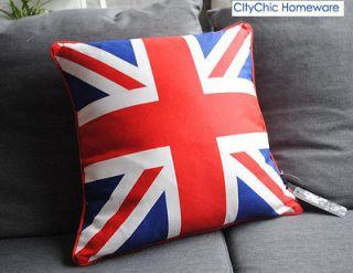 45cm x 45cm TBBS10 The Union Jack British Flag Canvas Cushion Cover