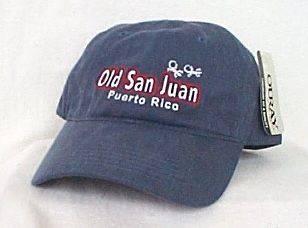 OLD SAN JUAN PUERTO RICO*Caribbean Island Ball cap hat