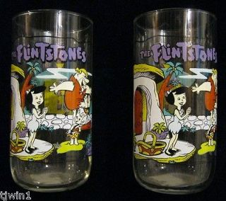 DRINKING GLASS THE FLINTSTONES THE FIRST 30 YEARS LITTLE BAMM BAMM