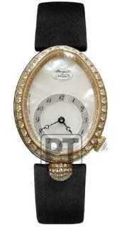 Breguet Reine de Naples Ladies Yellow Gold Diamond Watch 8928BA/58/844