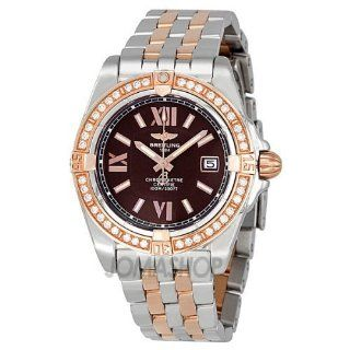 Breitling Lady Cockpit Diamond Rose Gold and Steel Ladies Watch