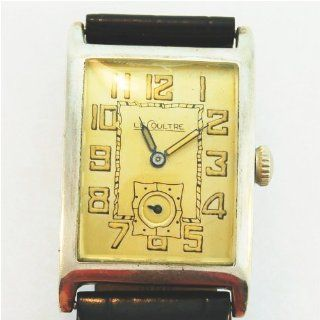 Vintage/Antique watch Mens Jaeger LeCoultre Watch Sterling Silver