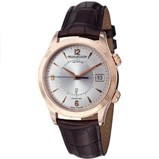 Jaeger LeCoultre Master Memovox Mens Rose Gold Watch 1412430 Watches