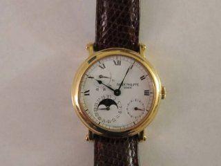 Patek Philippe 18K Yellow Gold Model 5054 Wristwatch Watches