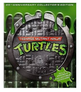 Teenage Mutant Ninja Turtles Film Collection DVD, 2009, 4 Disc Set