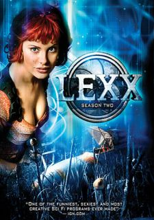Lexx   The Complete Second Series DVD, 2010, 4 Disc Set, Canadian