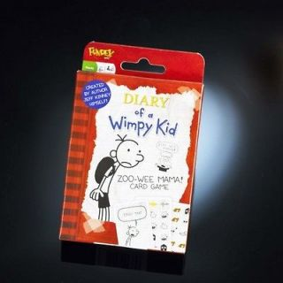 DIARY OF A WIMPY KID   ZOO WEE MAMA CARD GAME (B.N.I.B)