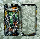 Fuzzy Camo Snap on Case HTC EVO SHIFT 4G SPRINT PHONE Cover