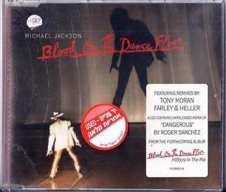 MICHAEL JACKSON BLOOD ON THE DANCE FLOOR 4 TRACK + REMIX 1997