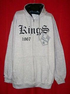 Majestic Los Angeles Kings Grey Goth Diamond NHL Hoodie Hooded
