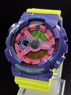 SHOCK GA 110HC Crazy color Watch by Casio F1 Red Bull Vettel Webber