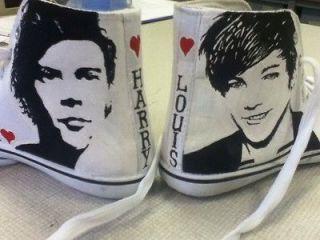 Hi Top Shoes, One Direction, Justin Bieber , JLS , Gaga, Beatles