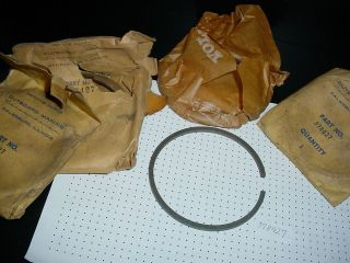 RINGS 378427 Vintage Johnson Evinrude Gale Outboard boat motor 50 85h