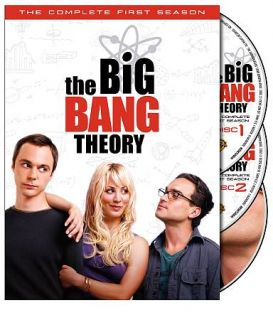 Big Bang Theory   The Complete First Season DVD, 3 Disc Set