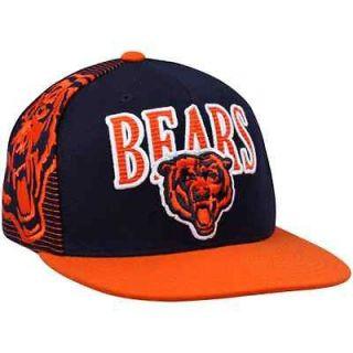 Mitchell & Ness Chicago Bears Throwback Laser Stitch Snapback Hat