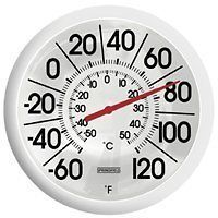 NEW SPRINGFIELD 90007 13 PLAIN BIG & BOLD INDOOR OUTDOOR THERMOMETER