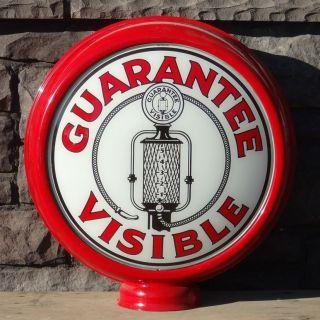Fry Guarantee Visible   15 Gas Pump Globe Lenses
