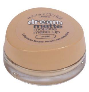 Maybelline Jade Dream Matte Mousse Make up, 30, Sand