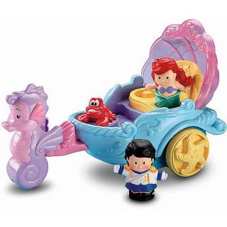 Fisher Price Little People Disney Princess Ariels Coach