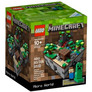 Purchase the LEGO Cuusoo Minecraft Building Set at an always low price