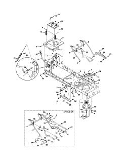 Belt diagram riding lawn mower model 247 25000 as well Riding Mower Wiring Schematic in addition OMM152793 H412 as well Toro Push Mower Engine Diagram also Murray Snowblower Parts Diagram. on murray push mower parts diagram