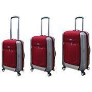 Travelers Club Ford Flex 2 3 pc. Hybrid Spinner Upright Luggage Set $