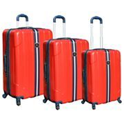 Travelers Club Ford Mustang 3 pc. Hardside Spinner Upright Luggage Set