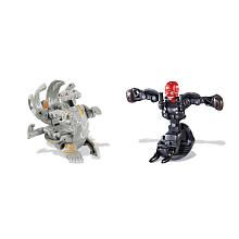 Bakugan vs. Marvel Action Figures 2 Pack   Lumagrowl vs. Red Skull