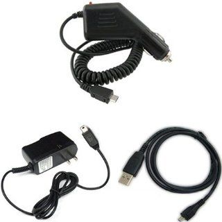 Blackberry Torch 9810 Combo Rapid Car Charger + Home Wall Charger