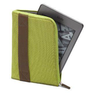 Funda con cremallera  para Kindle, color limón (sirve para