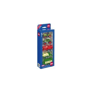Siku Super 6286   Set de regalo, 5 vehículos agrícolas en miniatura