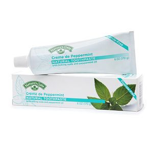 Buy Natures Gate Natural Toothpaste, Creme De Peppermint & More