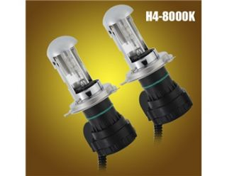 2pcs 12V 35W H4 8000K Auto Car Headlight HID Xenon High/Low Beam Bulbs