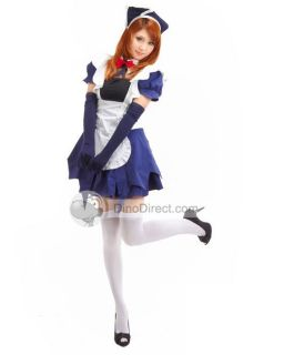 Wholesale Stylish Holiday Halloween Maid Dress Girls Cosplay Costume