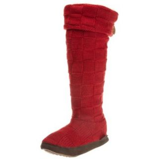 Muk Luks Womens Basketweave Cuff Boot   designer shoes, handbags