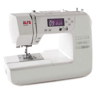 Máquina de coser Alfa 2130 con doble altura de prensatelas para