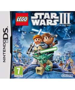 Buy LEGO® Star Wars III The Clone Wars   Nintendo DS Game at Argos