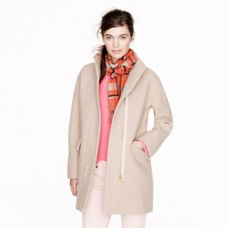 Stadium cloth cocoon coat   wool   Womens outerwear   J.Crew