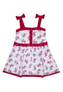 Vestido Fun Baby Fun Baby Vivo Laços Floral   Compre Agora  Dafiti