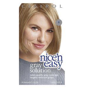 Buy Clairol Nice n Easy Gray Solution Hair Color, Medium Blonde 008