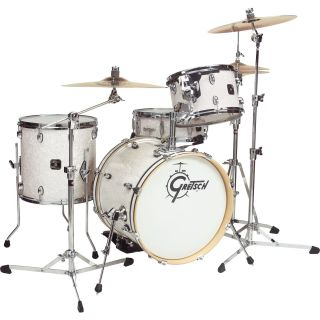 Gretsch Drums Catalina Club Jazz 4 Piece Shell Pack White Marine Pearl
